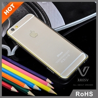Premium aviation aluminum materials maching+plating+Laser carving durable protective super slim phone case for iphone 6 plus