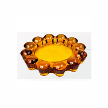 Cheap crystal glass ashtray supplier
