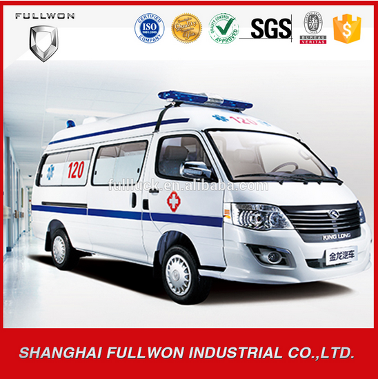 Factory price ambulance hospital transport car for sale