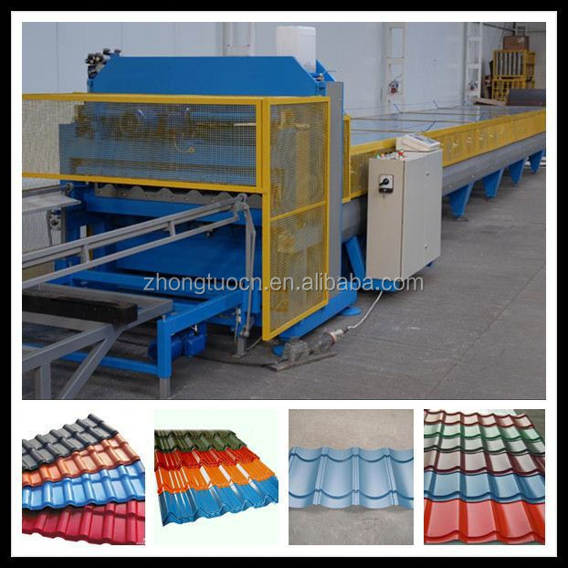 steel glazed tile roll forming machine price metal roof panel making machines steel plate rolling machine