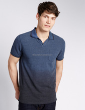 Men CVC60/40 Dip Dye Tailored Fit Polo Shirt