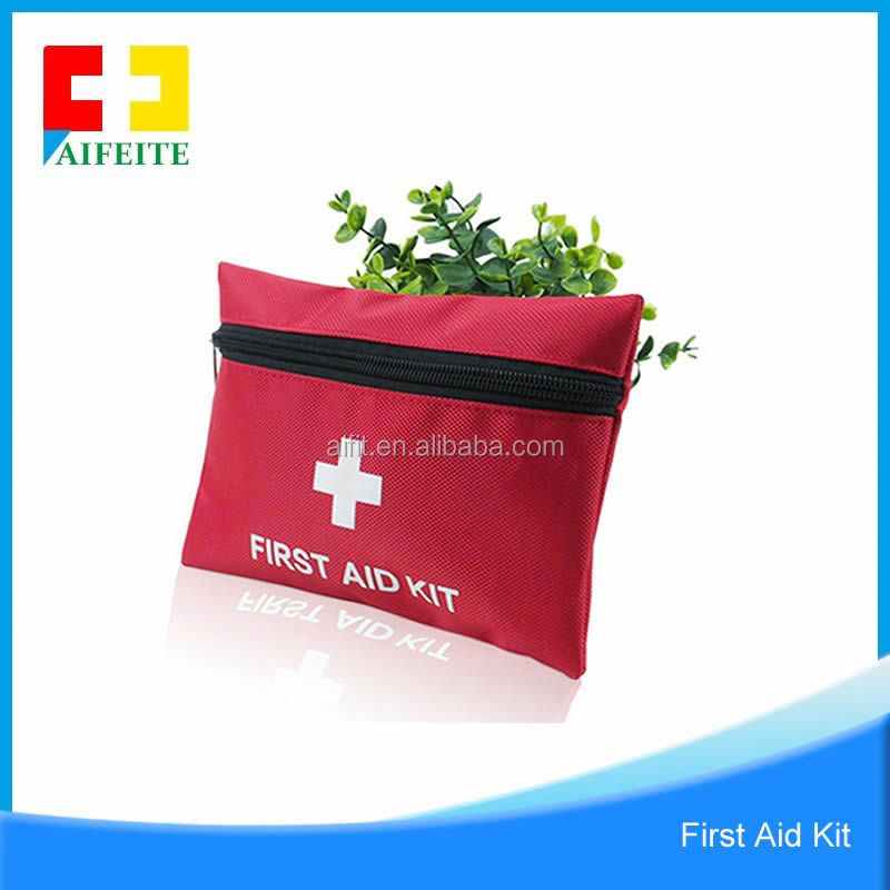 Promotional Novelty Colorful Army Travel Car First Aid Kit