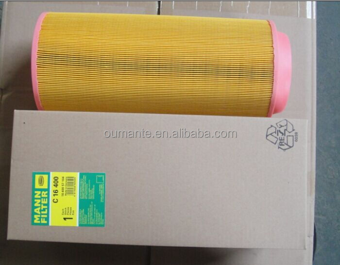 air filter for MANN C16400