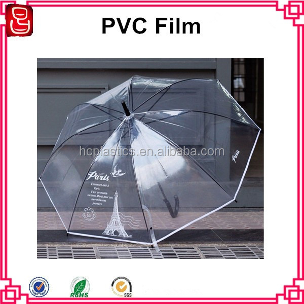Flexible Clear PVC Plastic Sheet In Roll