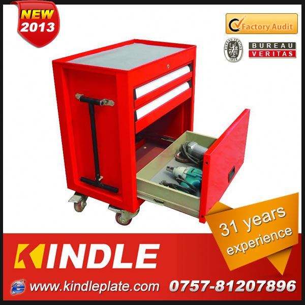 Kindle 2013 heavy duty hard wearing steel wheels combining repair tool cabinets