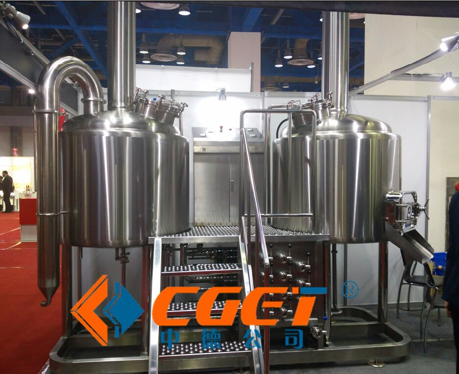 CE approved beer manufacturing plant for micro brewery