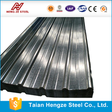 Color corrugated metal roofing / corrugated iron zinc aluminium sheet / prepainted roofing sheet