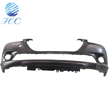 Vehicle injection moulded plastic front bumper manufacturing