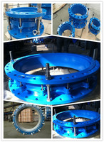 Ductile Iron Pipe Fitting DN80-2000MM dismantling joint with FBE coating