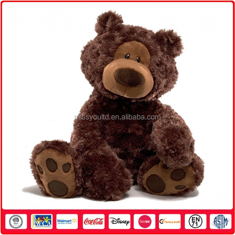 Wholesale Custom Sleeping Plush Bear Toy For Baby