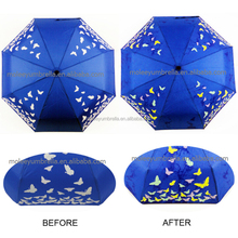 Colour Changing When Wet Umbrella