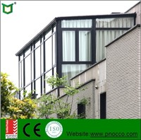 Aluminum Profile Glass Sunroom for Balcony/House/Garden House