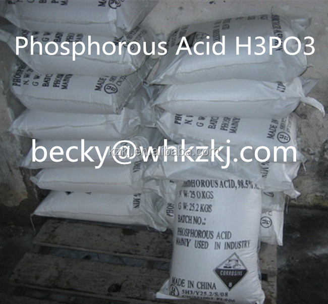 Water Soluble Phosphorous Acid H3PO3 Industrial Agricultural Grade