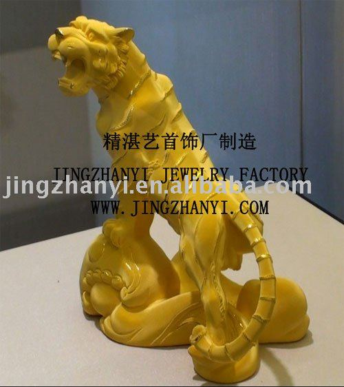 24K tiger statue --custom make