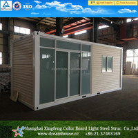 new design shipping container house for sale/foldable container house/movable prefab container Home
