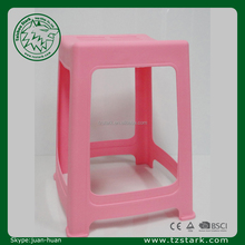 pink Creative Outdoor Stackable Plastic sitting stool chair bathroom Plastic Stool