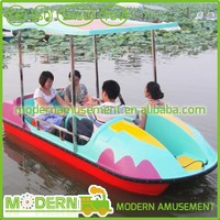 lake fiberglass electric boat paddle boat for sale