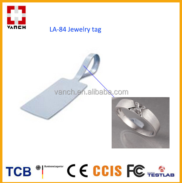VANCH uhf rfid tags jewelry for anti-theft function