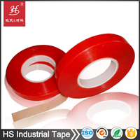 Super bonding clear polyester film double sided 3m banner tape for banner hemming