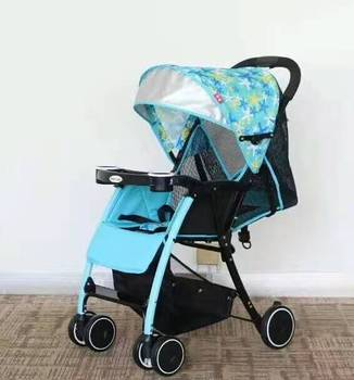 cheap fashion design baby stroller,light weight xe day manufacture,one hand folding xe tre em for kids made in china