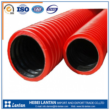 China manufacturer best price hdpe corrugated vent pipe