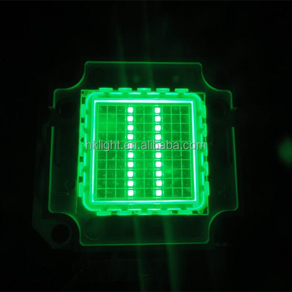 20w 510nm 515nm 520nm 525nm high power led