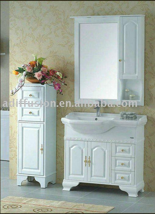 Blanco muebles de ba o antiguos tocadores de ba o identificaci n del producto 458626858 spanish - Muebles bano antiguos ...