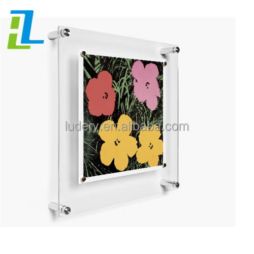 Factory Direct Selling Custom Plexiglass Acrylic A3 Wall Hanging Photo Frames