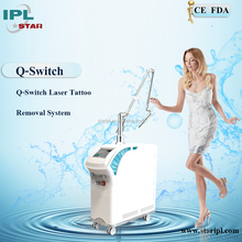 Professional Q-Switched nd yag Laser -The best way to remove tattoos and pigments
