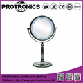 JM937 LED lighting mirror table mirror standing mirror double side magnifying