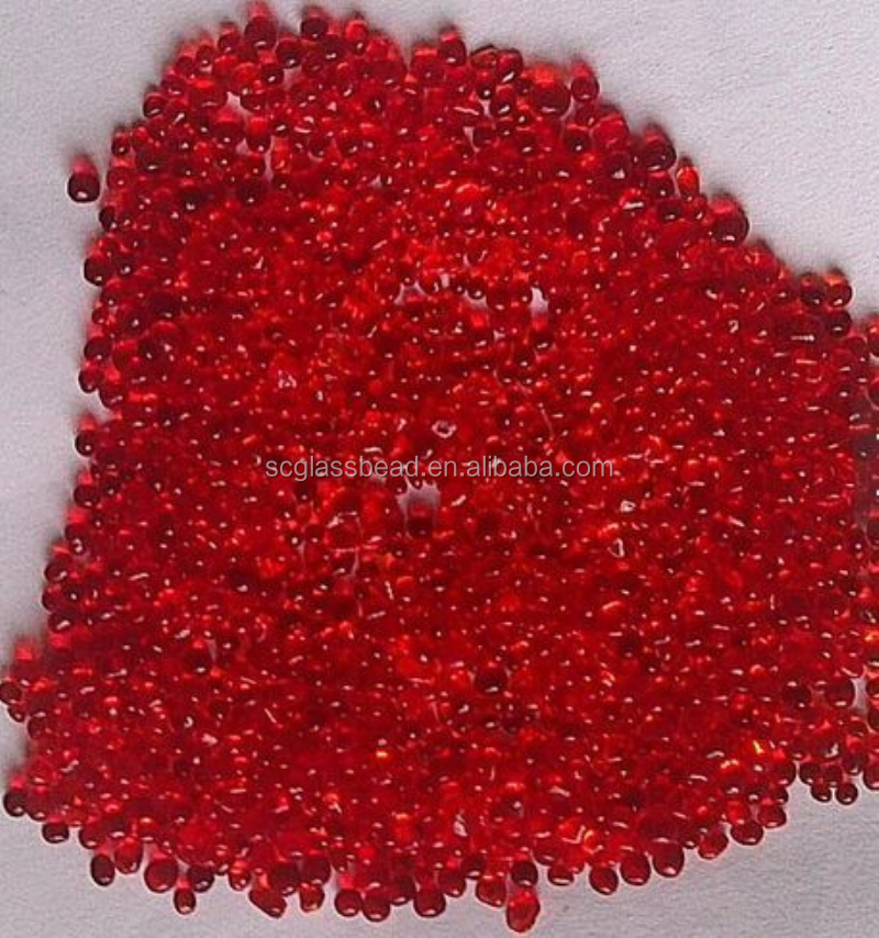 colour glass beads