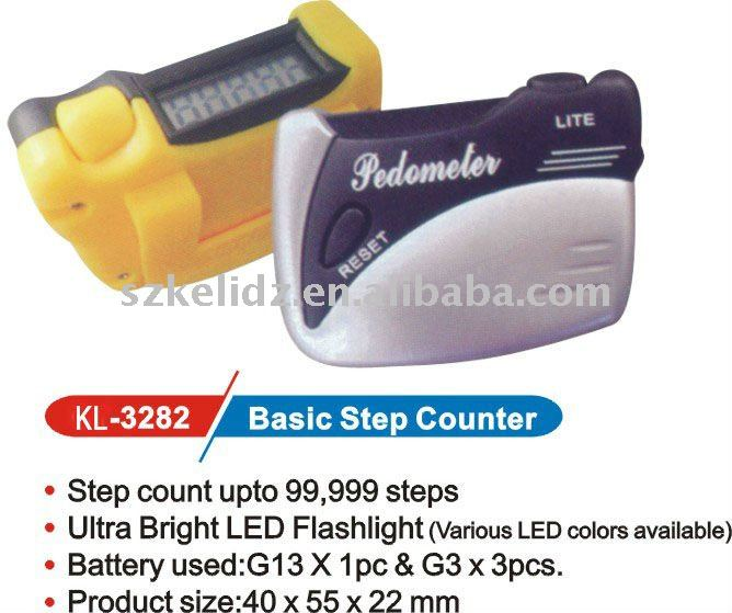 basic step counter