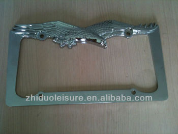 New style car license plate frame