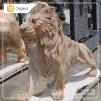 Factory Price Marble Small Stone Animal Carving Sculpture