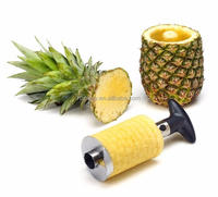 Fruit Slicer High Quality Easy to Use Stainless Steel and plastic Pineapple Slicer