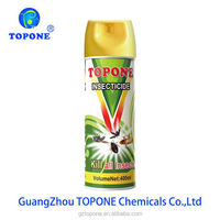 Guangzhou Topone 400ML Water Base Powerful Mosquito Killer Aerosol Insecticide