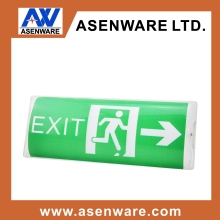 IP65 T5 8W Emergency Bulkhead Lighting with exit sign