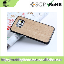 wood pattern mobile phone back case For Samsung S6 edge
