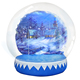 Giant inflatable water bubble ball Outdoor sport Toys body wearable human air bumper ball for adult and kids