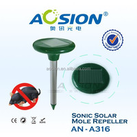 Solar Sonic Rodent/Mole/Gopher/Vole Repeller,Drive Pests Out of Yard
