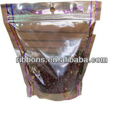 aluminum foil herbal incense mini zipper spice bag with new design