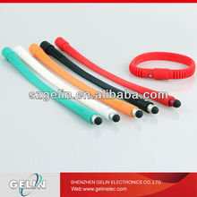 silicone stylus touch pen bangle