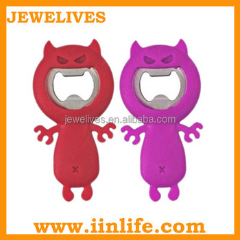 Promotional animal bottle opener wholesale wine accessories