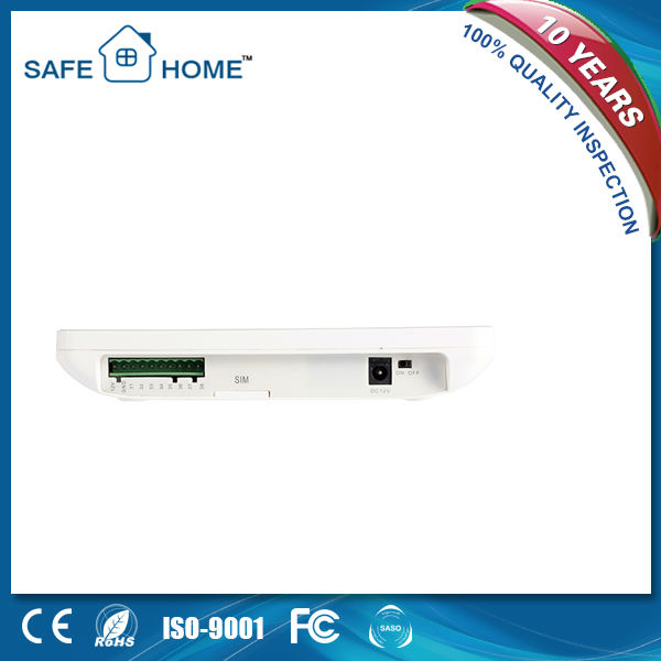 Intelligent touch screen gsm alarm system,factory price wireless system 433MHZ K3