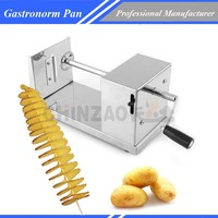 High Quality Stainless Steel Spiral Potato Chips Twister Slicer Cutter Tornado H-001