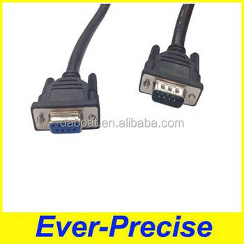 RS232 female to male DB9 cable