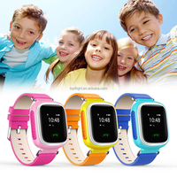 children watch wrist watch gps tracking device for kids A3 cell phones smartphones