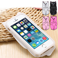 2016 trend product Cool Colorful anti-crash cute cat silicon Mobile Phone Case For iphone 6