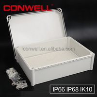 IP68 waterproof plastic electronical enclosure branch joint box