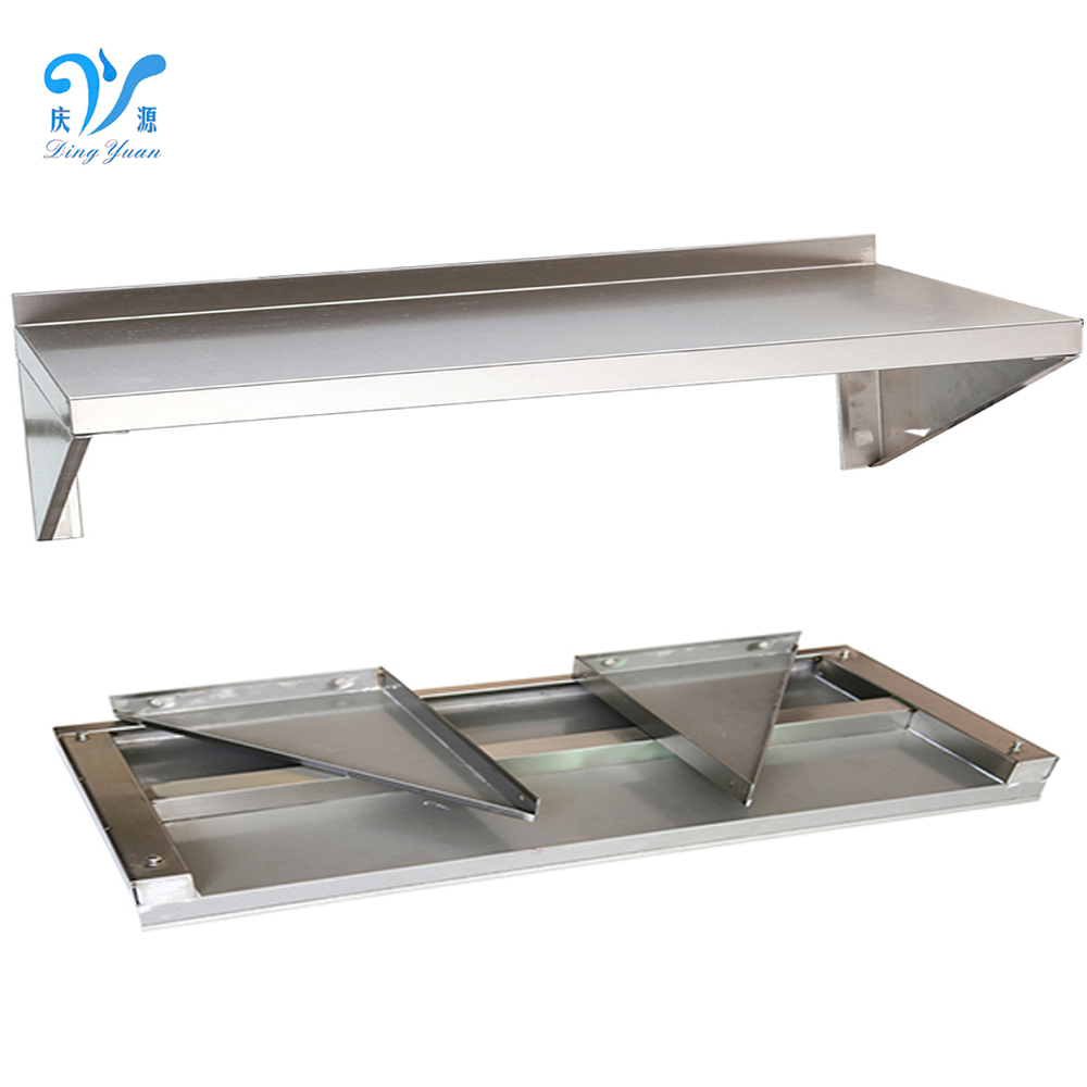 Easy to Clean Kitchen Wall Shelving for Home /Restaurant/Hotel Metal Kitchen